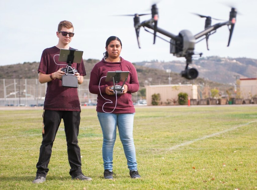 Palomar College is one of the local schools chosen for the FAA's Unmanned Aircraft Systems Collegiate Training Initiative.