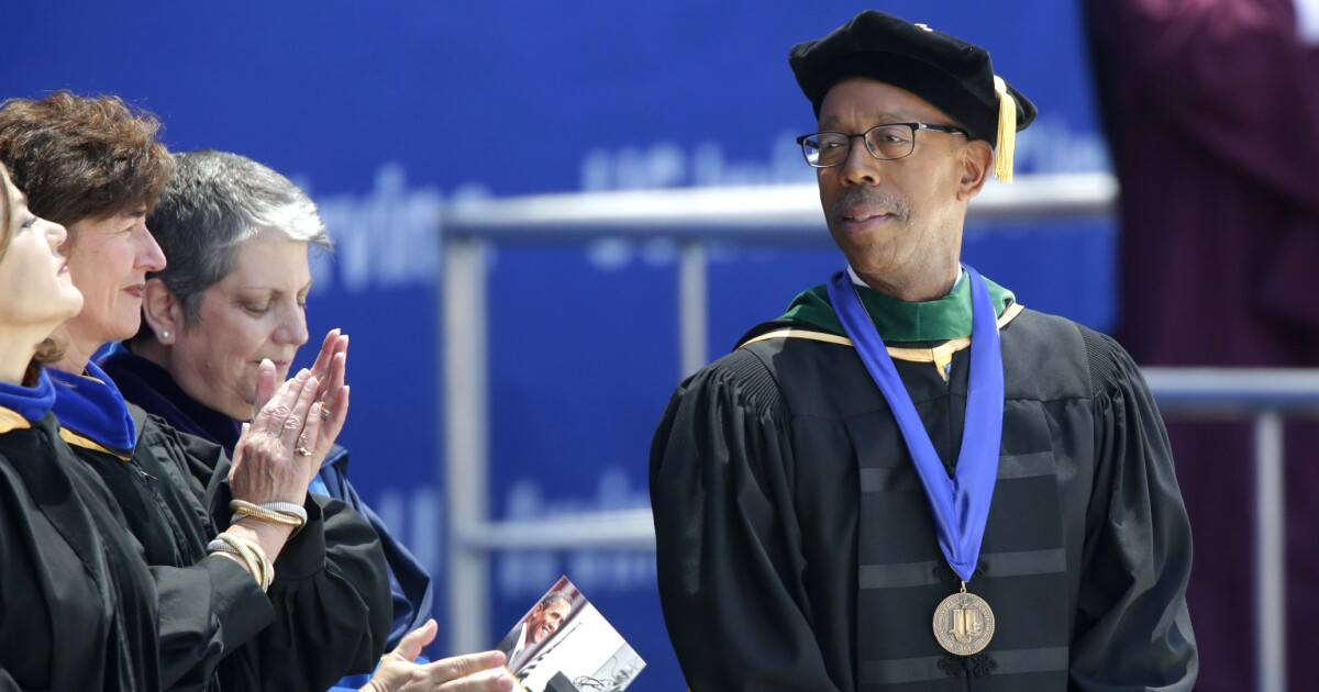 Michael Drake is the UC president California needs right now