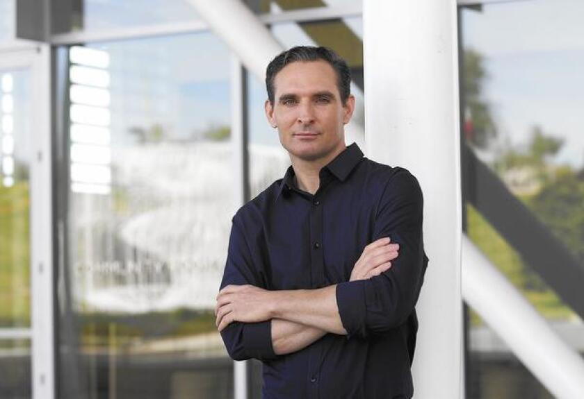 Michael Pappas of Costa Mesa is the co-founder and chief executive of RydenGo, a new ride-hailing app based in Newport Beach.