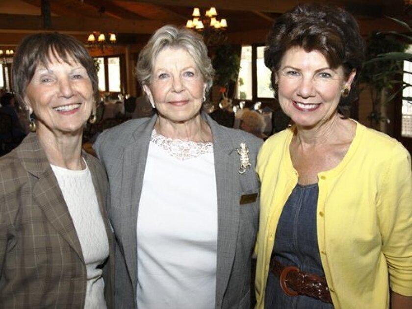 Barbara Brown, Jeanne Wheaton, Marilyn Dronenburg