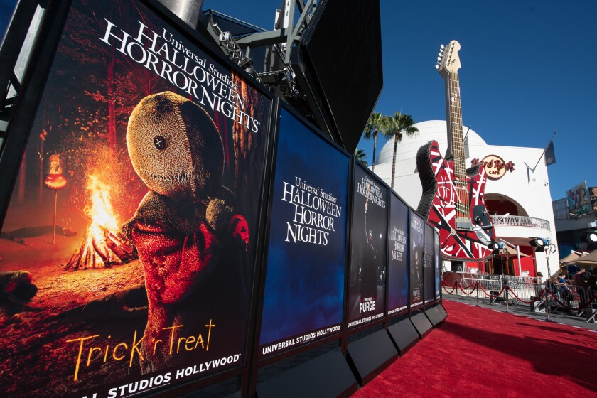 2018 Halloween Horror Nights at Universal Studios Hollywood, Sept. 14, 2018.