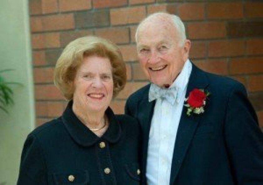 Elizabeth and Dr. John Carson