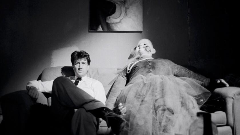 """David Lynch on the set of """"Blue Velvet,"""" from the documentary """"Blue Velvet Revisited."""""""
