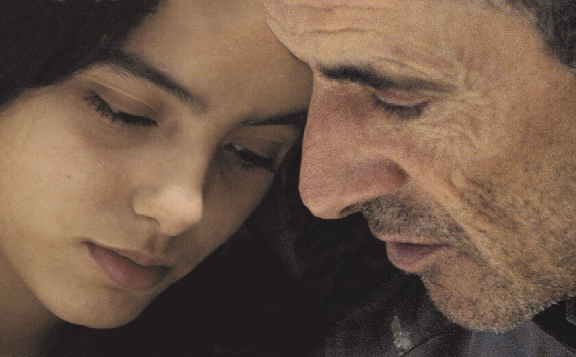 Habib Boufares, right, and Hafsia Herzi star in the French movie The Secret of the Grain. Habib Bouf