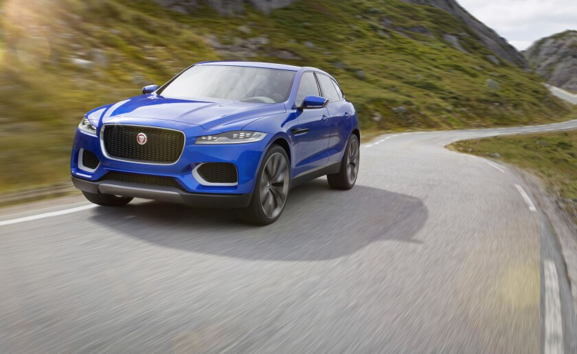 Jaguar unveils crossover SUV concept, hints at new sedans