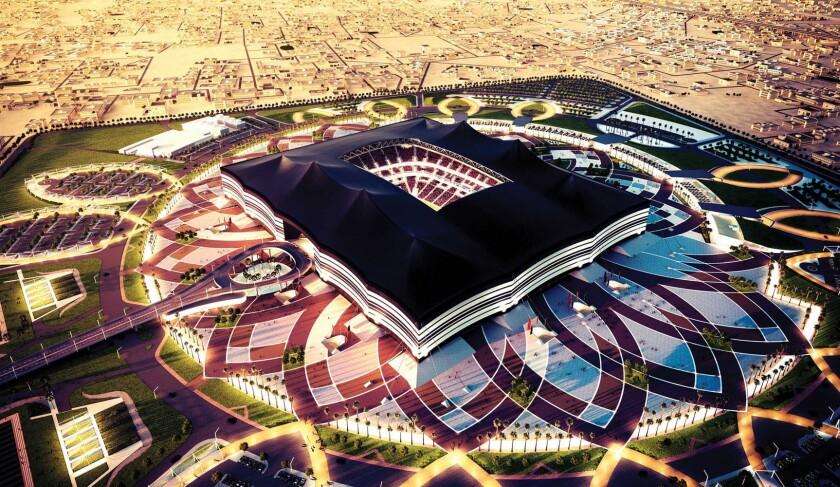 Uno de los estadios para el Mundial de 2022.