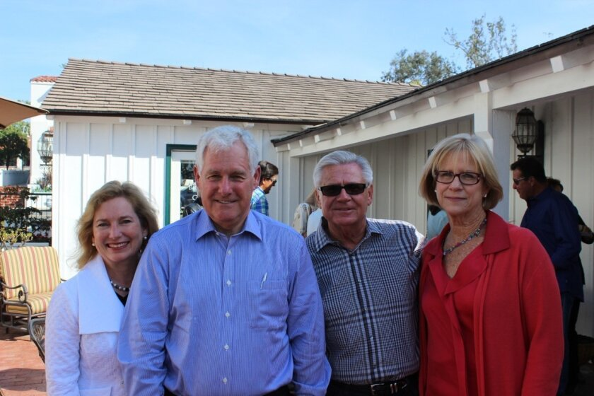 Janean and Tim Stripe (co-chairs of the Legacy Campaign) are pictured with Don and Donna Schempp.