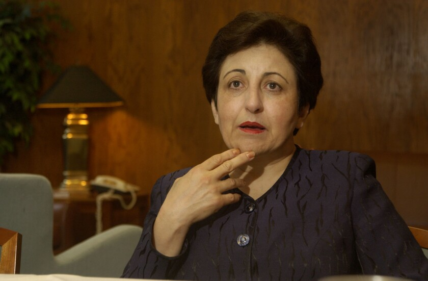 Shirin Ebadi, the first Iranian and the first Muslim woman to win the Nobel Peace Prize, will publish a new memoir.