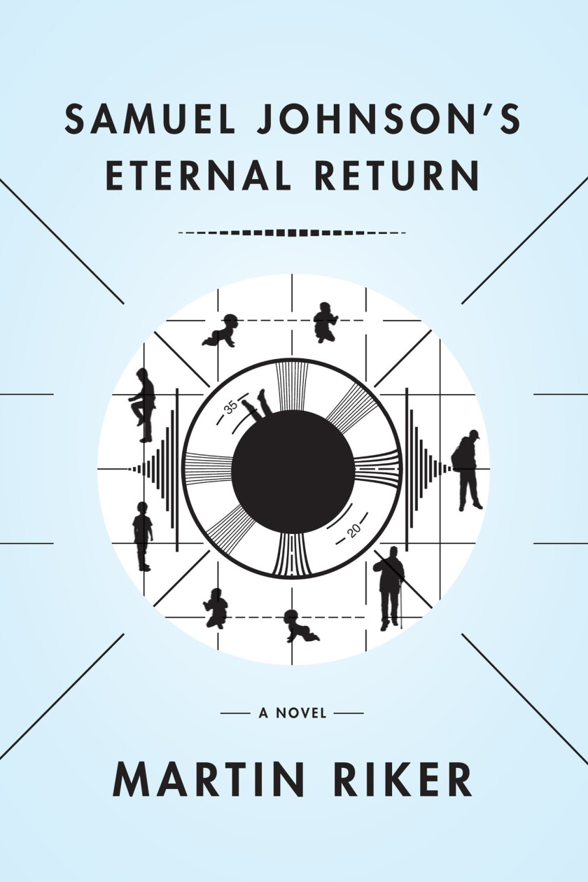 Book jacket for 'Samuel Johnson's Eternal Return' by Martin Riker.