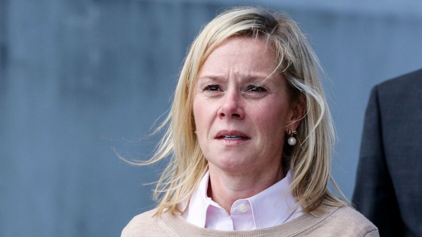 Former Chris Christie aide Bridget Anne Kelly after she was found guilty in the Bridgegate scandal.