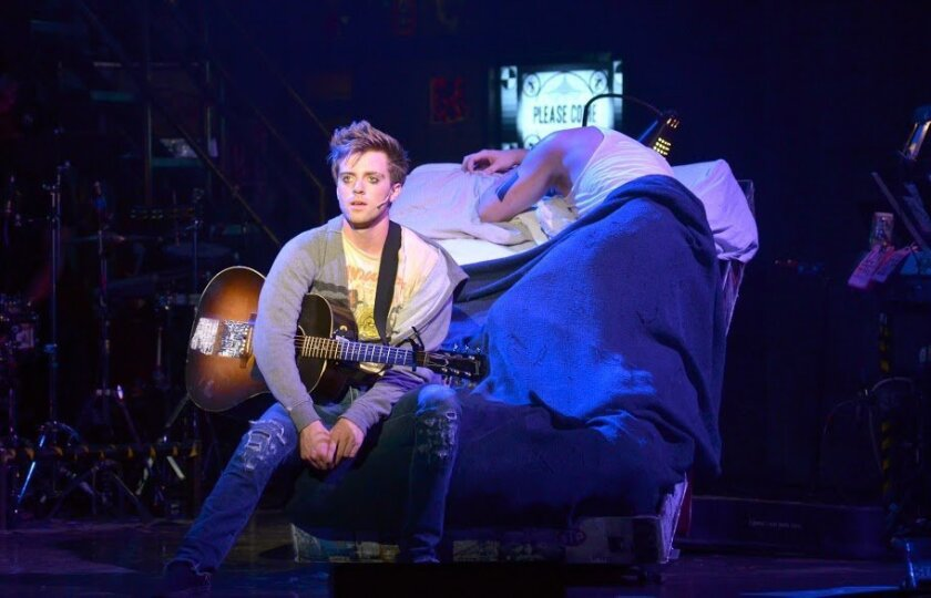 """Alex Nee, starring as Johnny in """"American Idiot,"""" hails from a family with San Diego musical roots."""