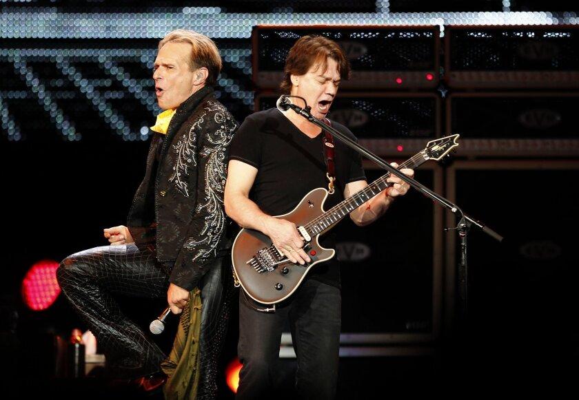 David Lee Roth and Eddie Van Halen run through their Viejas set.