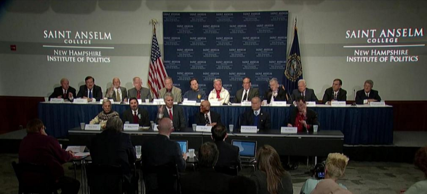 Lesser-known Democrats seeking the party's presidential nomination gather for a debate Tuesday in Manchester, N.H.