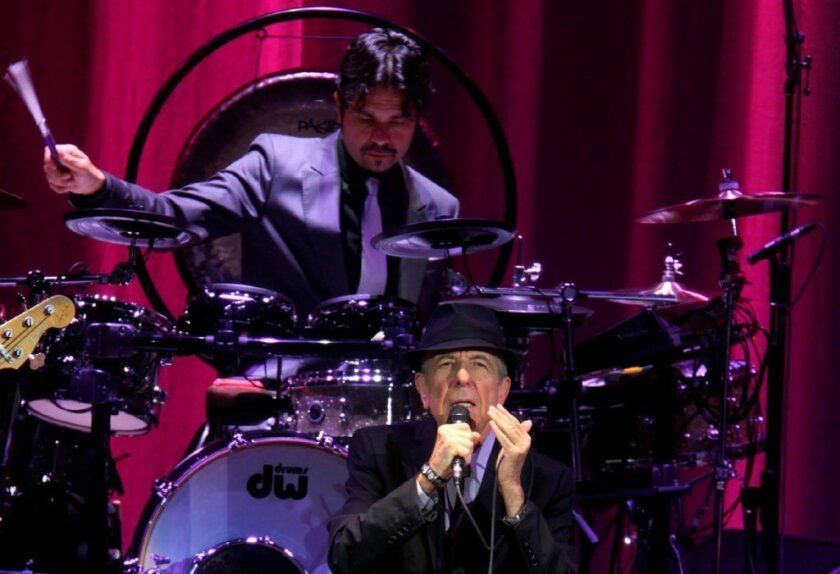 Review: Leonard Cohen's epic election-eve set at Nokia Theatre
