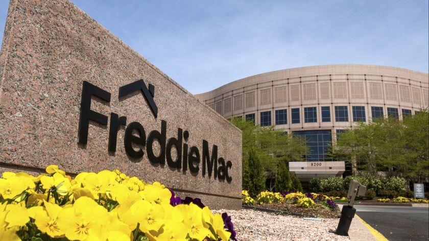 The Freddie Mac headquarters building in McLean, Va., Saturday, April 21, 2018. (AP Photo/J. David A