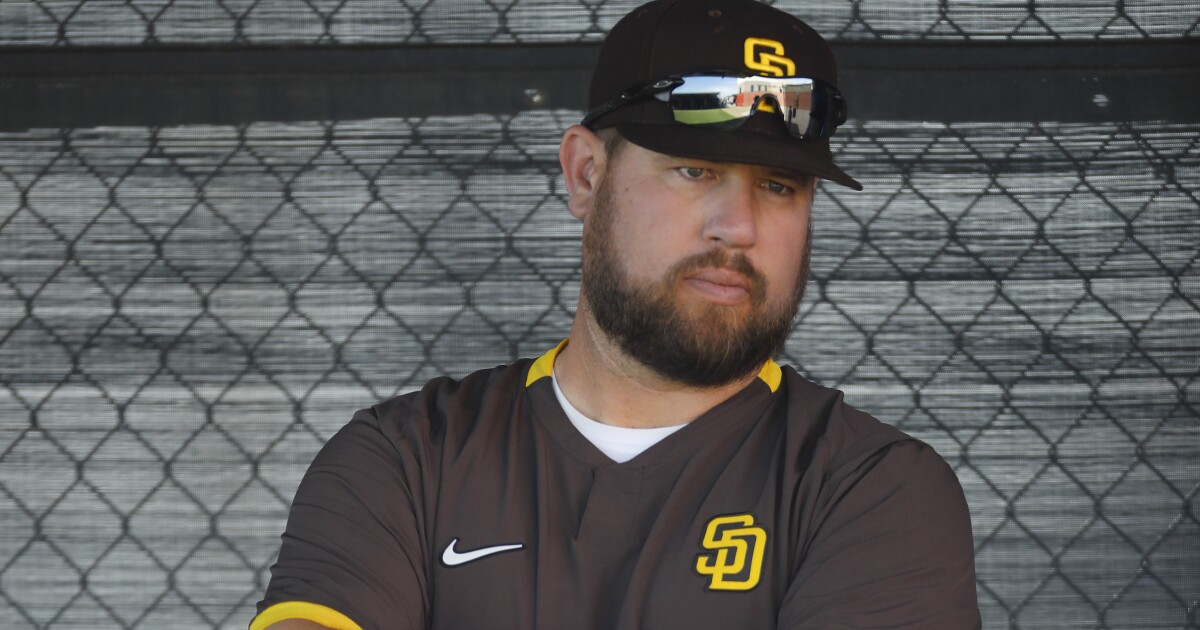 History on Ben Fritz's side as new Padres bullpen coach