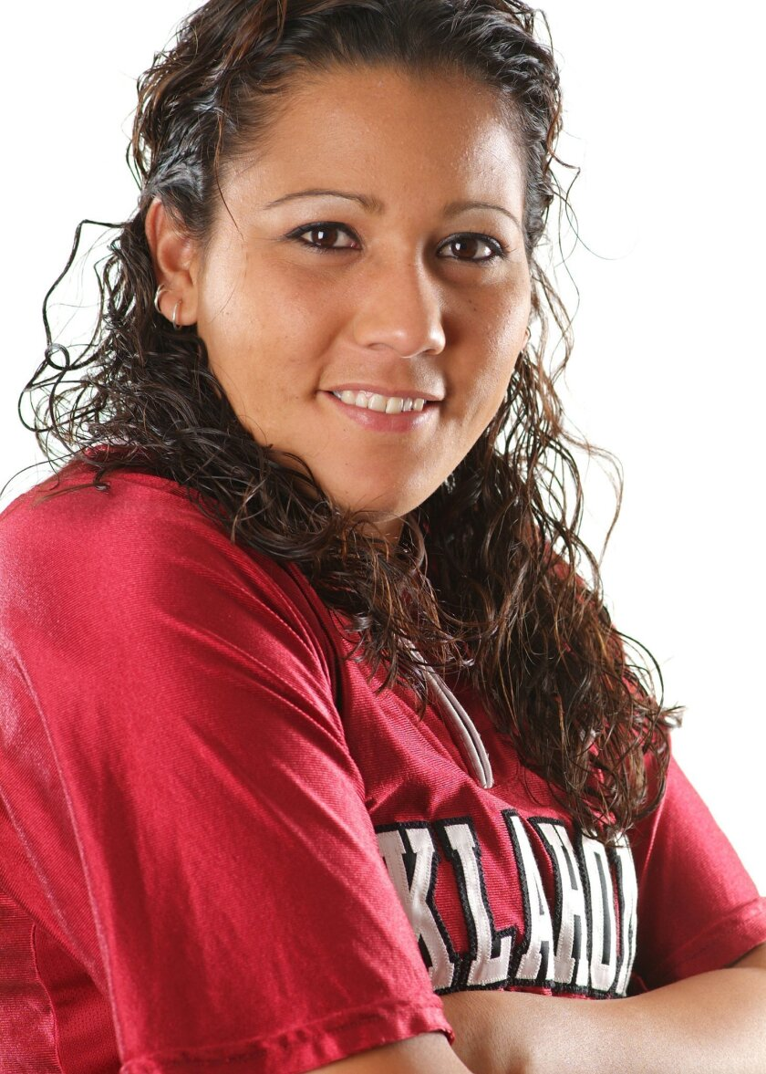 Mariee Mena was a member of the Sooners teams that advanced to the Women's College World Series her freshman and sophomore seasons.  <em>   &#8201; U. of Oklahoma photos  </em>