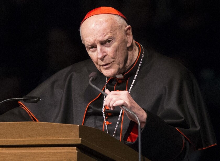 The Vatican this week issued a report about how the church disregarded warnings about former Cardinal Theodore McCarrick.