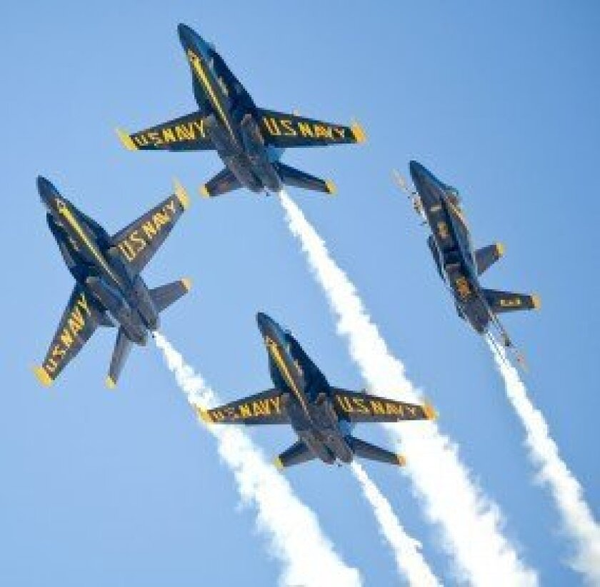 The U.S. Navy's Blue Angels