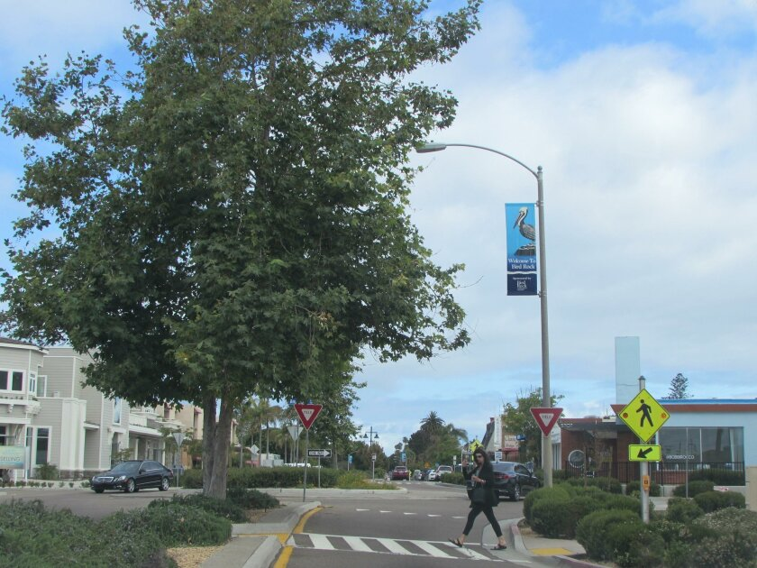 The Bird Rock Maintenance Assessment District (MAD) has produced funds for the safety and beautification of La Jolla Boulevard, the community's main throughfare. Improvements include traffic roundabouts, median landscaping, street lamps, irrigation, maintenance and repair.