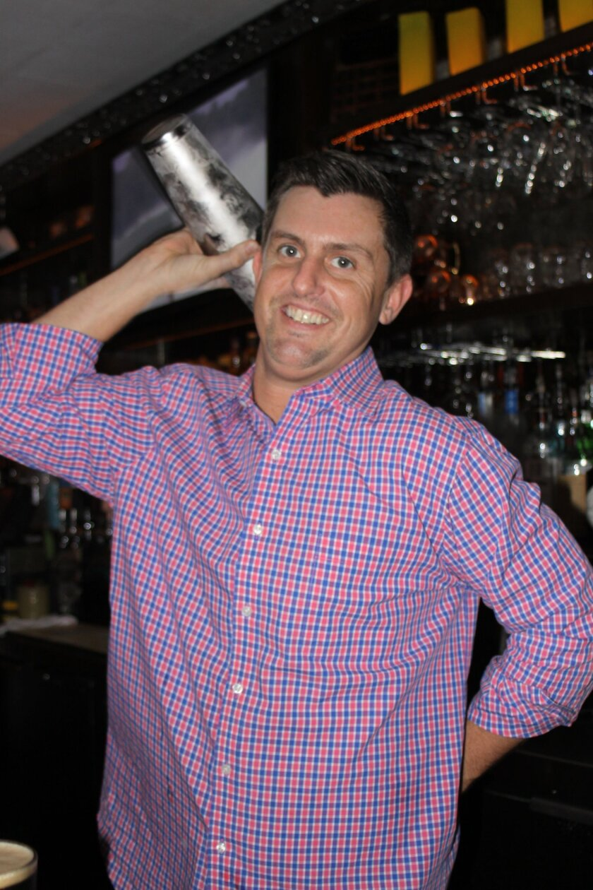 Beaumont's bar manager Gavin McManes shakes up some holiday cocktails