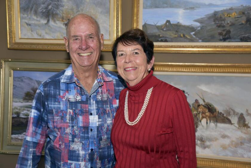 Event organizers/hosts Dick and Judy Arendsee