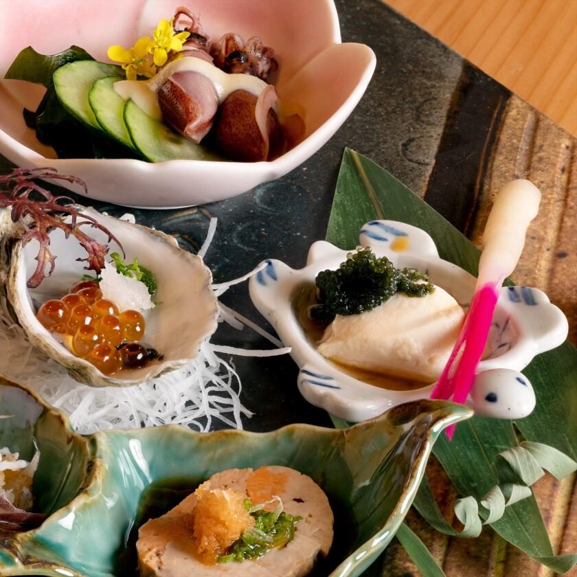 2021年9月28日ミシュランの星を獲得したSoichi Sushiの様々な料理
