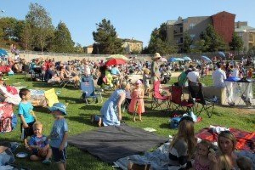 The Carmel Valley Recreation Center during this year's summer concert series. Photo by Jon Clark.