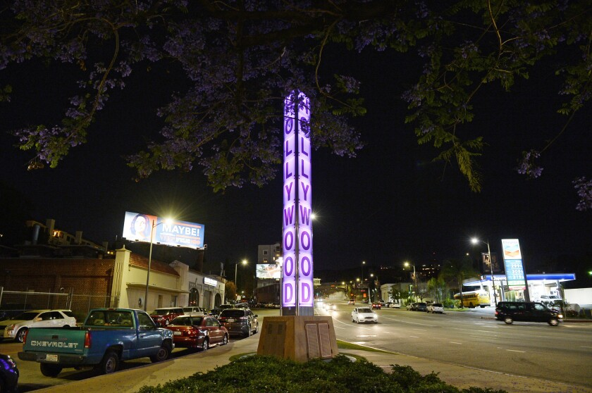 Purple for Prince: Hollywood