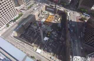 Wilshire Grand Center construction timelapse