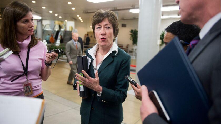Sen. Susan Collins (R-Maine) in 2013.