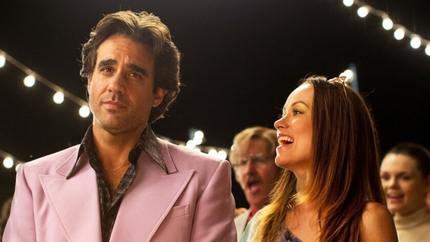 """Bobby Cannavale and Olivia Wilde star in HBO's """"Vinyl."""""""