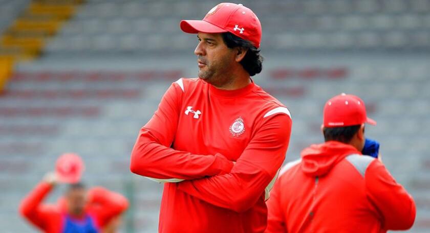 José Cardozo, entrenador del Toluca.