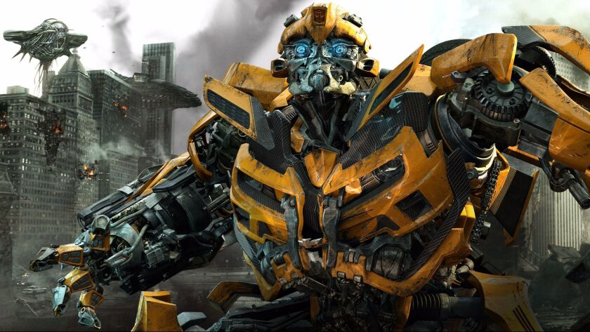 """The character Bumblebee in the 2011 movie """"Transformers: Dark of the Moon."""""""