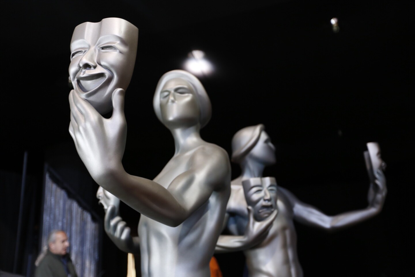 Staging the Screen Actors Guild Awards
