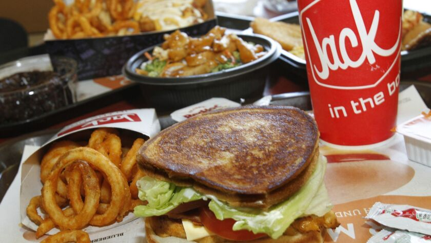 Jack in the Box same-store sales rose just 0.5% in the quarter ended July 8, lagging behind other quick-service sandwich restaurants, according to NPD Group.
