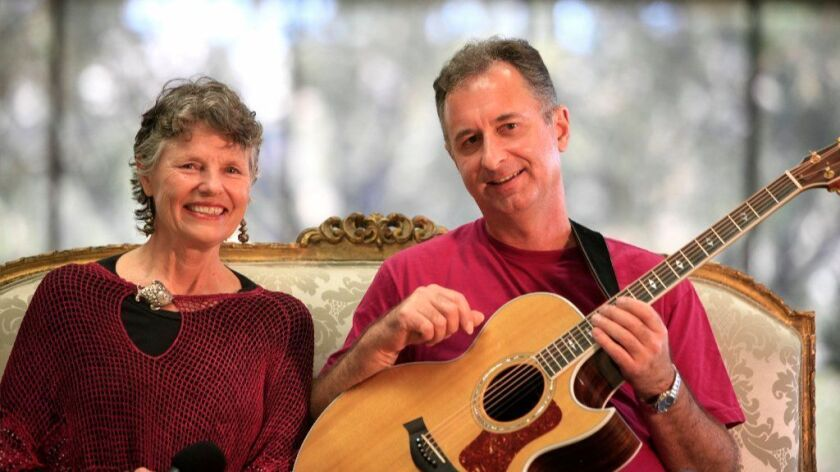 Robin Adler and her husband, Dave Blackburn, will perform their 10th annual Joni Mitchell birthday tribute concert Saturday at the all-ages Dizzy's.