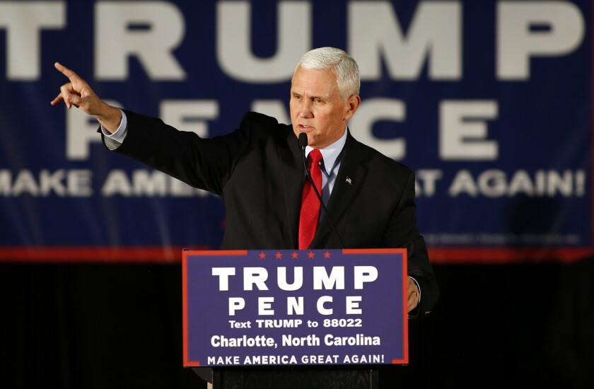 Vice President Mike Pence was a big promoter of the useless and dangerous federal right-to-try law.