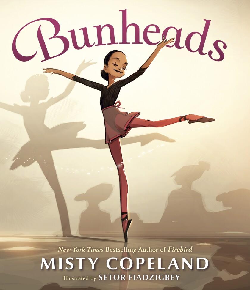 """La portada del libro """"Bunheads"""" escrito por la bailarina Misty Copeland con ilustraciones de Setor Fiadzigbe"""