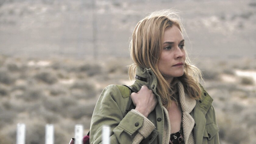 """Romy (Diane Kruger) wakes up alone in Vegas after her night with Diego in Fabienne Berthaud's """"Sky."""""""