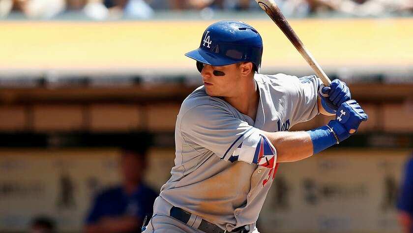 Dodgers rookie outfielder Joc Pederson did not start Saturday or Sunday against the Astros.