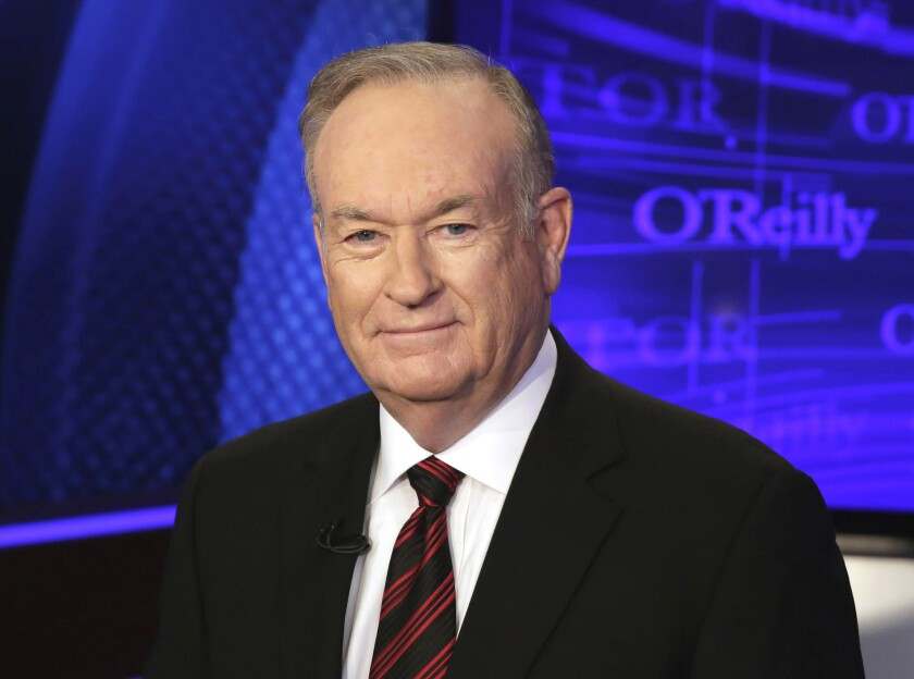 Fox News' Bill O'Reilly, shown in 2015, recently commented on First Lady Michelle Obama's speech at the Democratic National Convention.