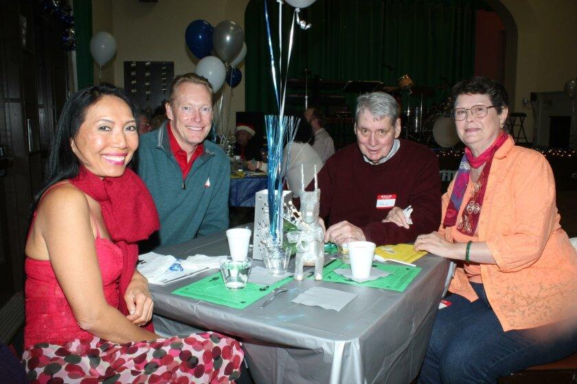 Witty Geyerman and Erik Helgeson with Joe and Charlotte Murray