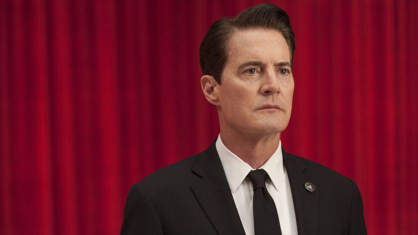 """Kyle MacLachlan as Dale Cooper in """"Twin Peaks."""""""
