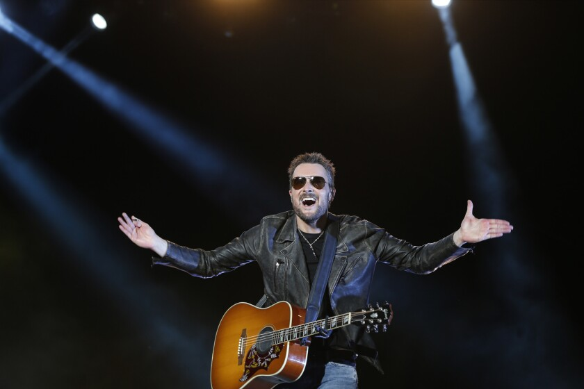 Eric Church headlined the opening day of 2016 Stagecoach