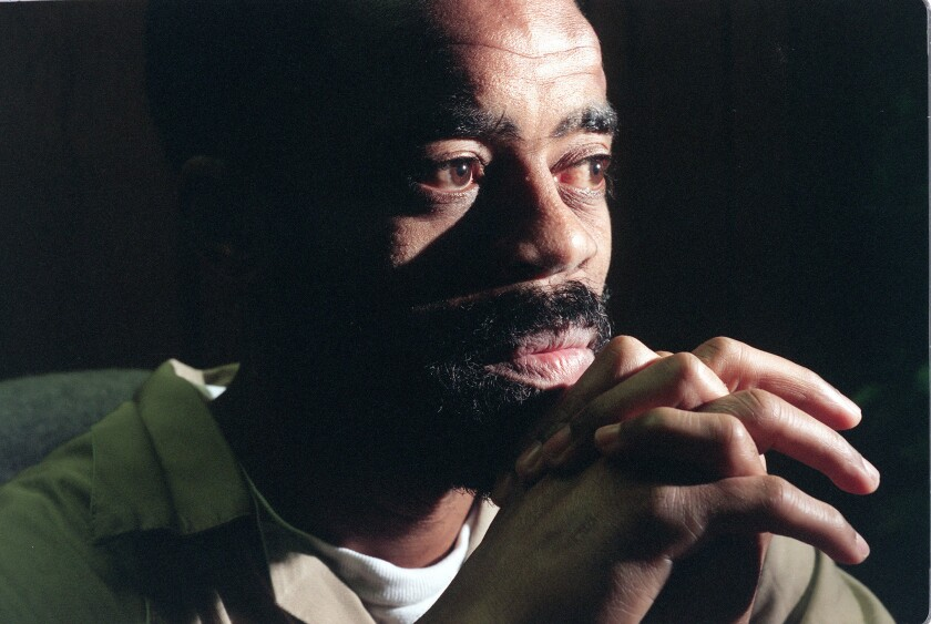 """""""Freeway"""" Ricky Ross during a jailhouse interview at the Metropolitan Correctional Center in San Diego in October 1996."""