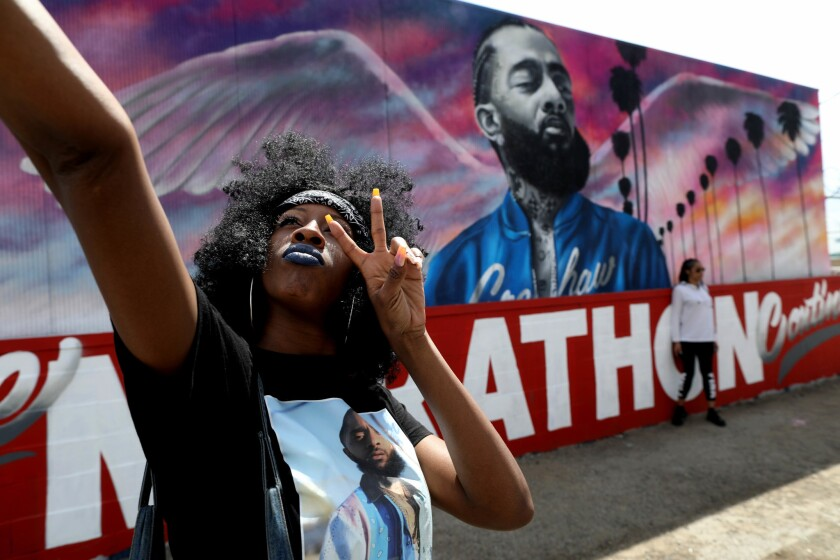 Nipsey Hussle memorialized: Rapper's spirit 'is alive' and