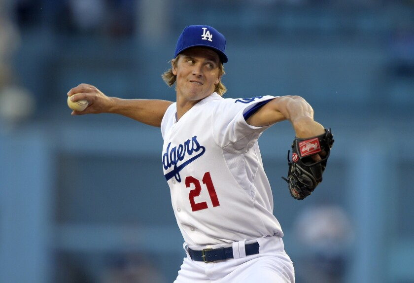 Zack Greinke held the Brewers scoreless in five innings of work while striking out six and walking five batters.