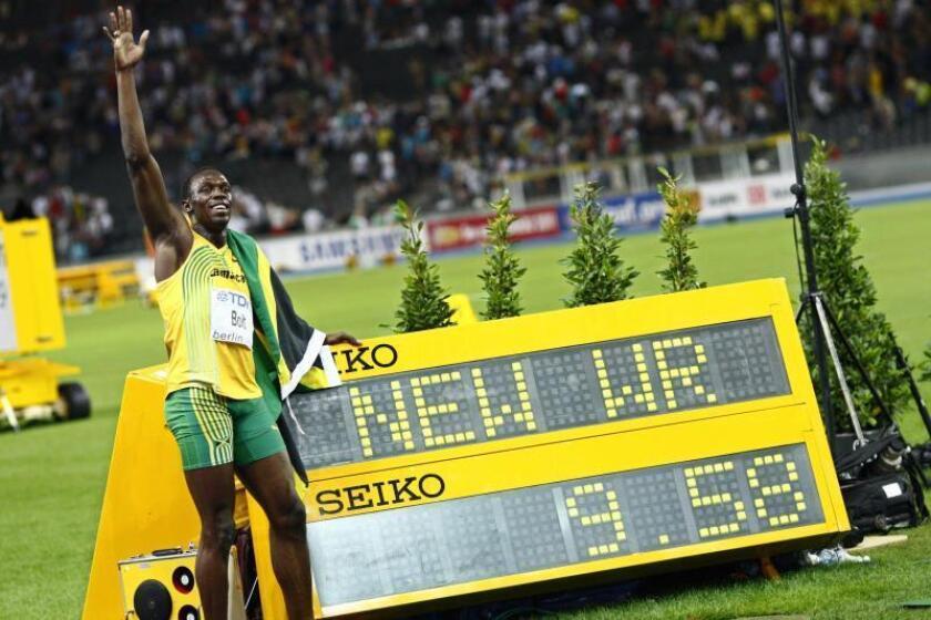 Diez años de la exhibición de Bolt en el santuario de Jesse Owens