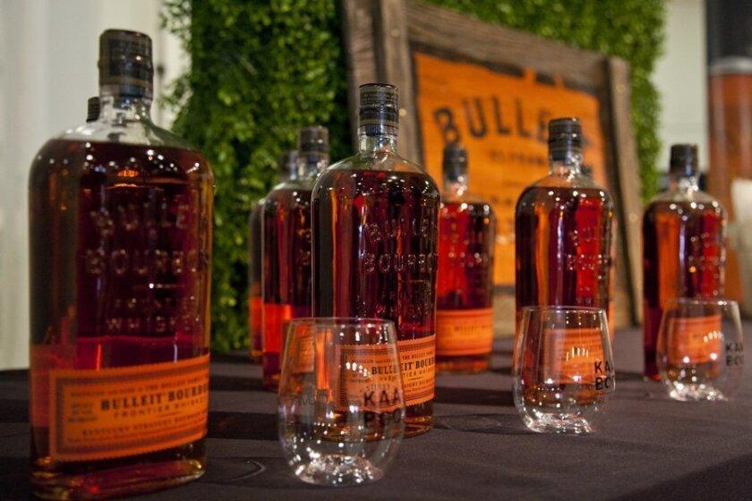 KAABOO Del Mar 2015 --  Kentucky Straight Bourbon whiskey Bulleit Bourbon